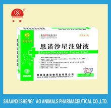 Enrofloxacin Injection for poultry with GMP Certificate