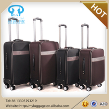 Cheap and new design Pu leather suitcase vintage luggage