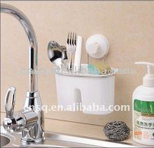Palillos con titular de la taza de succión& de pared montado en rack palillos& de succión taza de cepillo de dientes sostener