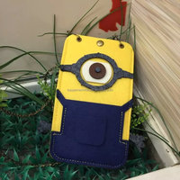 Despicable Me Minions Case For iphone 6 mobile phone pouch