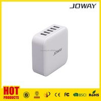 5 USB 8.2A output AC adapter , charge for 5 devices oncely, AC plug cable enclosed