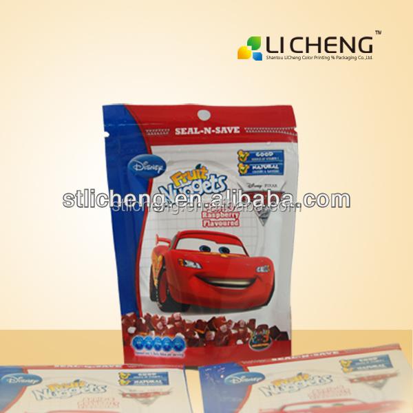 High quality n custom print zipper bag/plastic bag with zipper/zipper bag