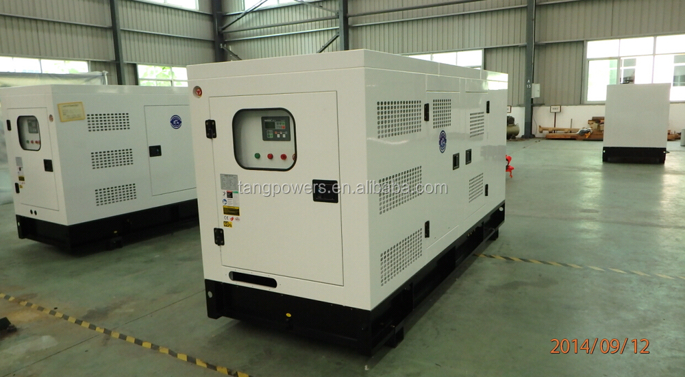 Hot sale 100kva cummins soundproof generator