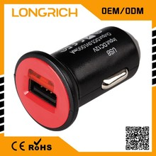 Gift shop wholesale, dual port car usb charger, innovative corporate gift
