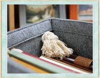 sales promotion Wool felt storage basket bag