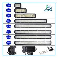 Dual row vehicle led light bar atv offroad truck 234w driving ligth bar