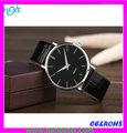 Alta calidad del movimiento de japón lobor reloj con estilo minimalista caja