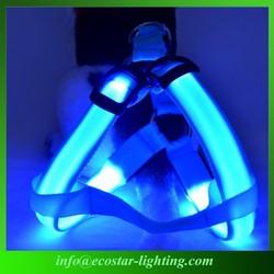 Cheap LED Flashing Pet Dog Vest Harness Supplier