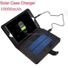 10000mah Use for Ipad charging USB Solar Charger Ipad Case,Solar Ipad Charger