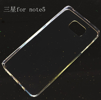 For Samsung Galaxy Note5 Ultra Thin Slim 0.3mm Clear Transparent Soft Case Cell Phone TPU Back Cover Case