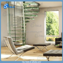 2015 hot selling home design stairs & stair parts spiral stairs