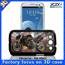 High quality wholesale 3D cell phone case for Samsung i9300 with 3D motorbike 102