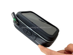4.3 inch waterproof mini gps tracker bag,easily to install on the bike or motorcycle