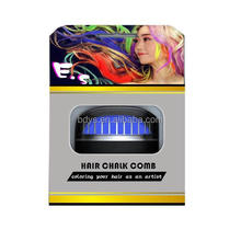 Wholesale!!!oval shape hair comb convenient to use hair chalk comb easy wash hair chalk comb