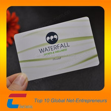 Sports and wellness plastic VIP membership card with good quality, value added plastic card