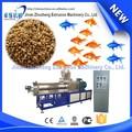 2015 nueva floating alimentos para peces de doble husillo extrusoras