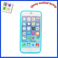 Custom made cell phone case for mobile phone accessory, silicone case for iphone 6 case for other mobile phone