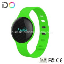 2015 hot 5 colors Bluetooth 4.0 Android ios app bluetoooth wristbands health sports fitness sleep tracking