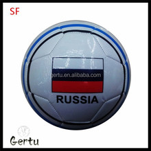 promotional Small size pvc leather soccer ball