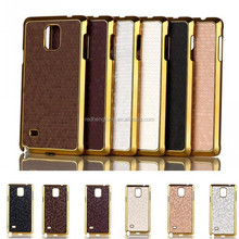 China shell phone mobile phone with metal shell hard covers for samsung galaxy note 4