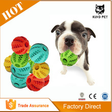 Interactive Soft Rubber Dog Toy