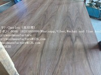 Fancy walnut Plywood from plywood manufacturer for decoration/furniture