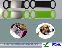 manufacturer supply metal dog tag stainless steel plate QR code dog tag