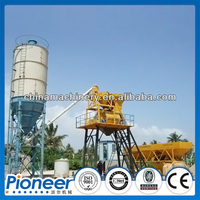 50m3/h Fixed Skip Type Low Cost Concrete Batching Plant Indonesia