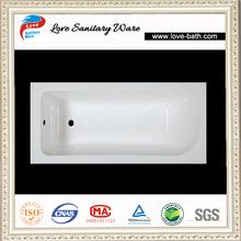 Chinese supplier bult-in best acrylic bathtub in low price bathtub