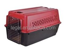2015 plastic pet carrier pet travel cage LPP-609S