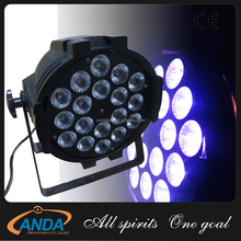 18pcs*10W dmx 4 in 1 rgbw LED Par wedding/DJ/DISCO/ stage Lighting