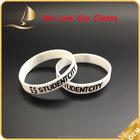 Impressão de silicone pulseira OEM pulseira de silicone banda fábrica