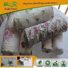 Del verano del bebé manta con modelo animal para 100% algodón