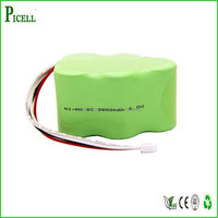 ni-mh 6v rechargeable battery pack sc size 3000mah