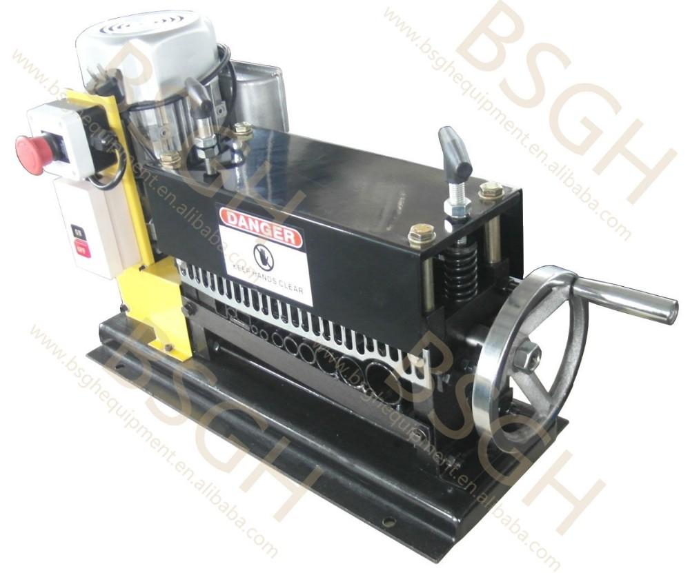 Automatische aluminium kabel abisoliermaschine abfall draht kabel ...