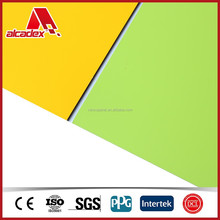 aluminium composite plate curtain wall wood outdoor sign board material