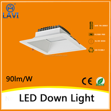 Australian best-selling 16w 90-100mm cutout 3 inch square led downlight retrofit 2 years warranty