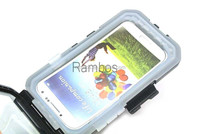 5 in 1Bike Motorcycle Waterproof Moblie Phone case with Handlebar Mount Holder Stand Cover with Strap for Samsung S4 I9505
