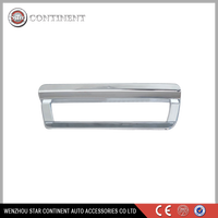 Car exterior accessories ABS chrome body part brake lamp cover for haima S7