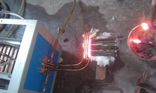 Steel bar end Induction heating and forging machine