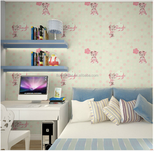 Beautiful soundproof cartoon stencil monkey mouse the wall papers