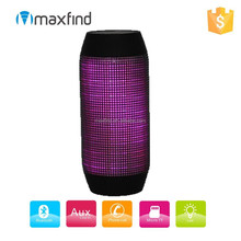 Mini portable disco light LED bluetooth speaker with NFC