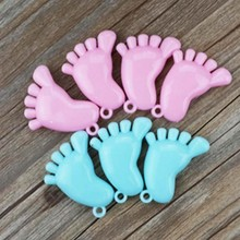 party decoration baby shower feet decoration