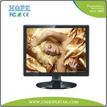 Customized design 15inch TFT LCD monitor DVI/VGA/AV/TV input Optinional