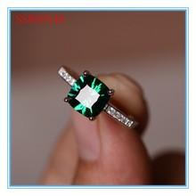 High quality fashion design hot sale emerald gemstone ring