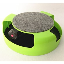 Electronic Moving Mouse Kitten Cat Toys Catch The Mouse Motion Cat Toy