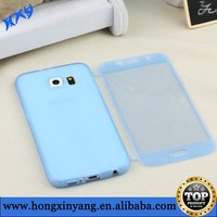 TPU Flip Touch Screen Case for Samsung Galaxy S6 G9200 Full body Cover