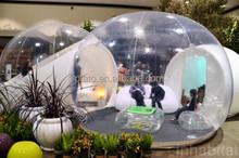 2014 venda quente! Inflável clara tenda bolha para venda