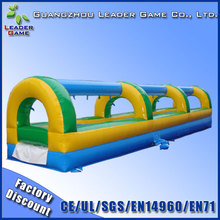 Commercial party inflatable slip and slide for kids and adults