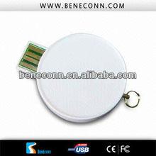 Shell round usb flash drive 1gb _2gb _4gb_8gb_16gb